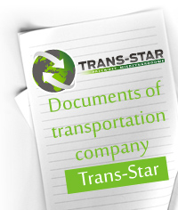 documents-of-transportation-company-trans-star